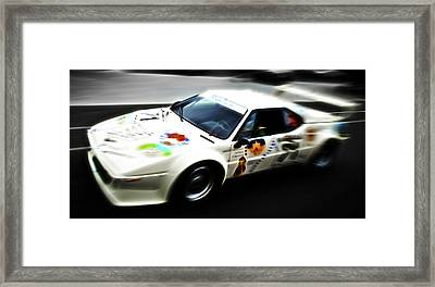 1980 Bmw M1 Procar Framed Print by Phil 'motography' Clark
