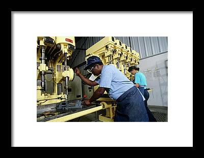 Drill Presses Framed Prints