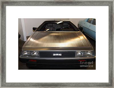 1981 Delorean Dmc-12 5d25674 Framed Print by Wingsdomain Art and Photography