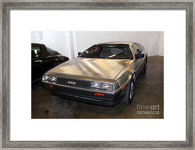 1981 Delorean Dmc-12 5d25676 Framed Print by Wingsdomain Art and Photography