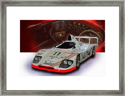 1981 Porsche 936/81 Spyder Framed Print