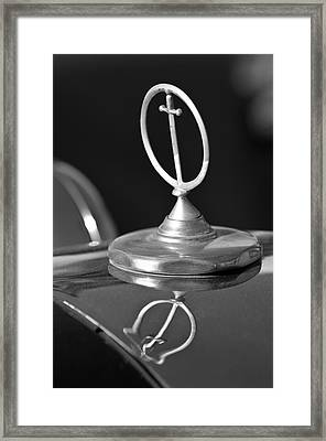 1984 Excalibur Roadster Hood Ornament 2 Framed Print by Jill Reger
