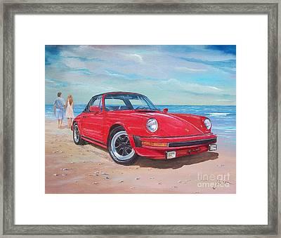 1985 Porsche 911 Targa Framed Print