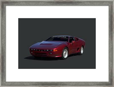 1988 Fireo Scorpion Kit Car Framed Print by Tim McCullough