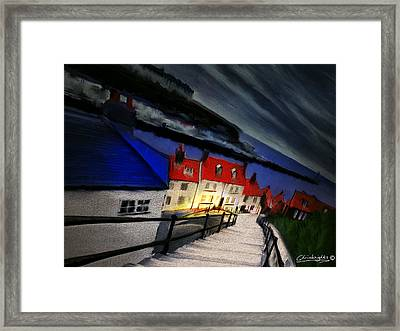 199 Steps Framed Print by Chris Knights