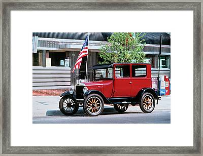 1990s Restored 1926 Ford Model T Framed Print