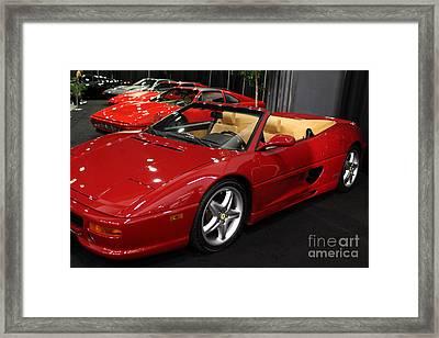 1995 Ferrari F355 Spider - 5d20265 Framed Print