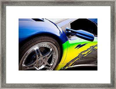1995 Lamborghini Diablo Framed Print by David Patterson