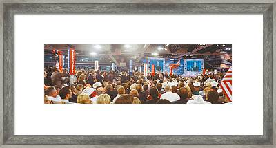 1996 Republican National Convention Framed Print by Panoramic Images