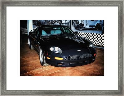 Framed Print featuring the photograph 1997 Aston Martin Db7 by Boris Mordukhayev