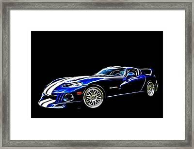 1997 Viper Hennessey Venom 650r 5 Framed Print by Davandra Cribbie
