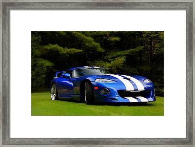1997 Viper Hennessey Venom 650r Framed Print by Davandra Cribbie