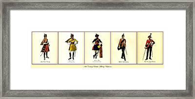 19th Century British Military Uniforms Framed Print by Don Struke