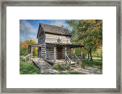 19th Century Cabin Framed Print
