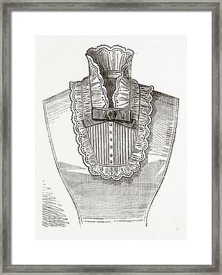 19th Century Fashion Framed Print