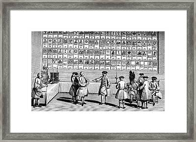 19th Century Freemasons Framed Print