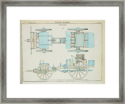 19th Century German Artillery Forge Framed Print