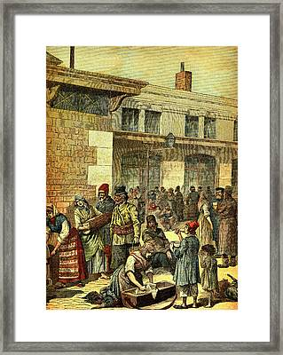 19th Century Jewish Migrants Framed Print by Collection Abecasis