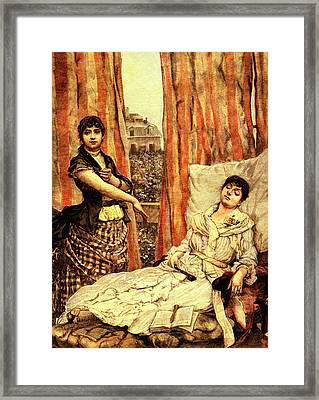 19th Century Morphine Addicts Framed Print by Collection Abecasis
