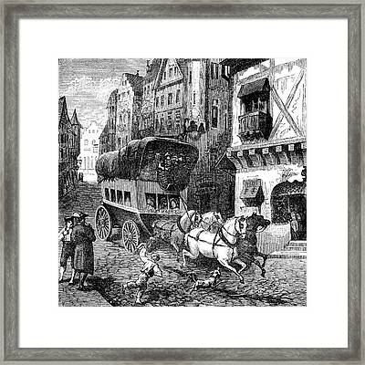19th Century Munich Framed Print by Collection Abecasis