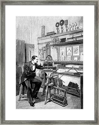 19th Century Radiography Framed Print by Collection Abecasis