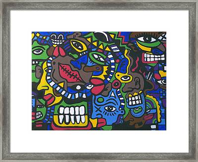 1st And 4most Framed Print by Kamoni Khem
