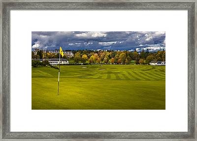 Prints For Sale Kings Golf Course Gleneagles Framed Print