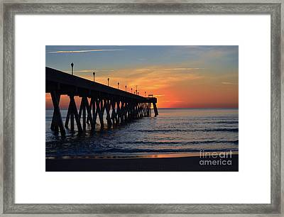 1st Sunrise Of 2015 - 4 Framed Print by Bob Sample