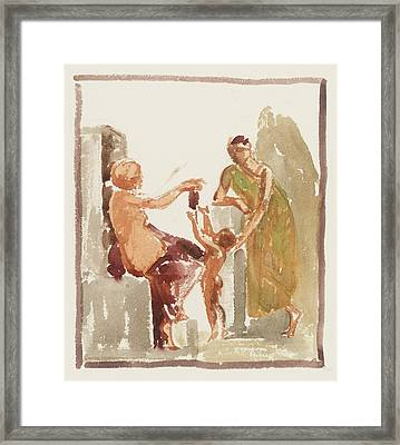 Collection With Assistance Framed Print