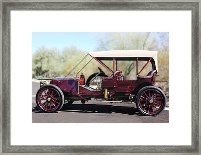 1907 Panhard Et Levassor Framed Print by Jill Reger