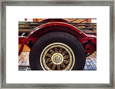 1914 Lafrance Fire Engine Framed Print by Rich Franco