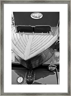 1914 Rolls-royce Silver Ghost Shapiro-schebera Skiff Rear End Framed Print by Jill Reger