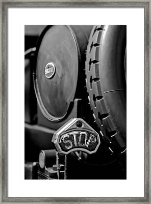 1920 Bugatti Type 13 Taillight Framed Print by Jill Reger