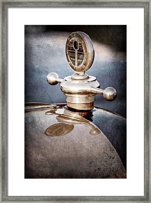 1922 Studebaker Touring Hood Ornament Framed Print