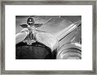1926 Duesenberg Model A Boyce Motometer - Hood Ornament Framed Print