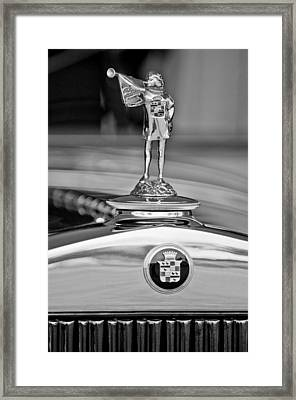 1929 Cadillac 1183 Dual Cowl Phaeton Hood Ornament Framed Print