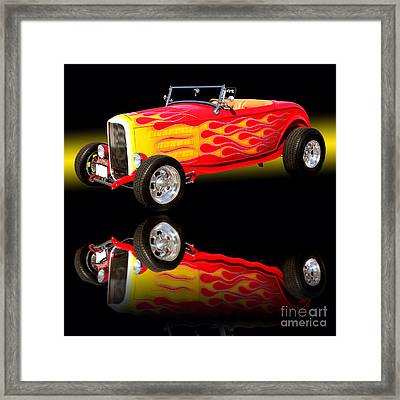 1932 Ford V8 Hotrod Framed Print by Jim Carrell