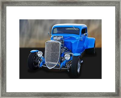 1933 Ford 3-window Coupe   Framed Print