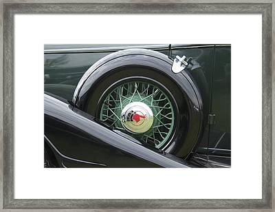 1933 Pontiac Framed Print by Jack R Perry