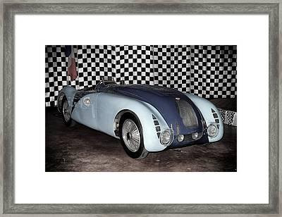 Framed Print featuring the photograph 1936 Bugatti 57g Tank by Boris Mordukhayev