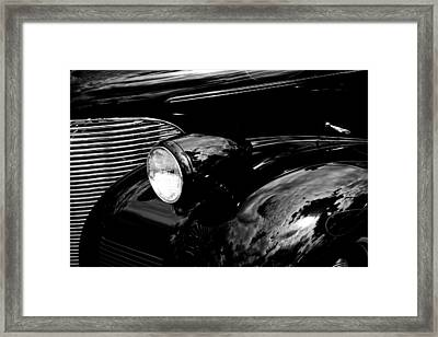 1939 Chevy Coupe Framed Print by David Patterson