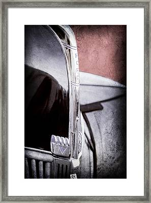 1940 Ford Hood Ornament Framed Print by Jill Reger