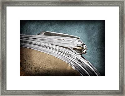 1941 Pontiac Hood Ornament Framed Print