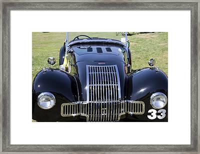 1947 Allard K1 Roadster Framed Print
