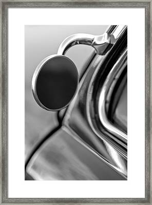 1950 Mercury Custom Lead Sled Side Mirror  Framed Print by Jill Reger