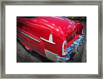 1951 Mercury Convertible Painted  Framed Print by Rich Franco