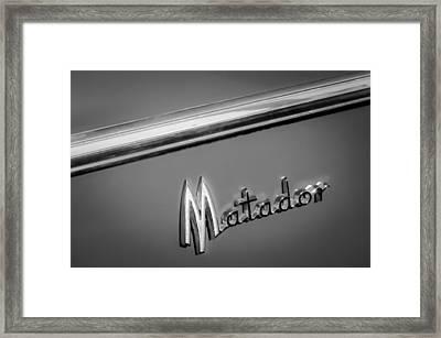 1960 Dodge Matador Emblem Framed Print