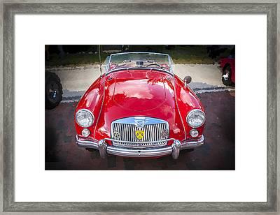 1960 Mga 1600 Convertible Framed Print by Rich Franco