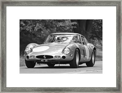 1963 Ferrari 250 Gto Scaglietti Berlinetta Framed Print