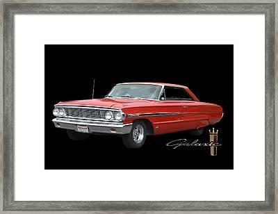 1964 Ford Galaxie 500 Framed Print